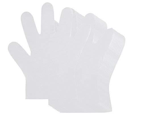 Mehrzweck-Handschuhe für Kinder (1000 Count) - Kunststoff Lebensmittel-Prep Handschuhe, latexfreie Handschuhe - Transparent, Kindergröße, 19 x 16 Zoll -