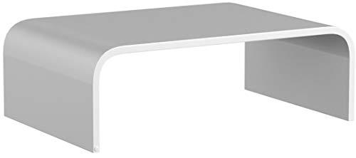 Unterbau / Podest / Kniebank / Ständer Lowboard / TV-Erhöhung / Bildschirm-Standfuß Tv- Aufsatz aus Acrylglas - Transparent 30 x 20 x 10 cm