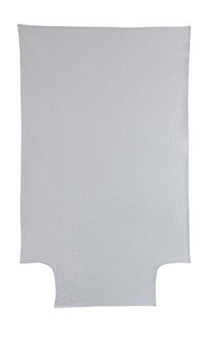 P'tit Basile - housse de couette 100x140 cm bébé - enfant - Coloris gris perle - été ou hiver - Coton bio de qualité supérieure, Tissage serré pour plus de douceur