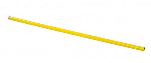 RHINOS sports Trainingsstange, Hürdenstange, Slalomstange   1 Meter   Ø 25 mm   gelb