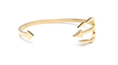James-Wheland-Trident-Armreifen-Armband-offen-aus-hochwertigem-Edelstahl