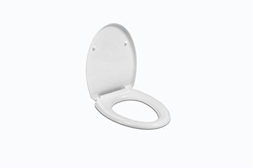 Ceramica Dolomite J102500 Sedile in Termoindurente Normale Novella, Bianco