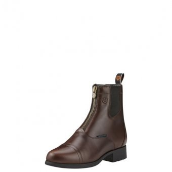Ariat Winter Reitschuhe Bromont Pro Zip Paddock gefüttert, Waxed Chocolate, 6 (39)