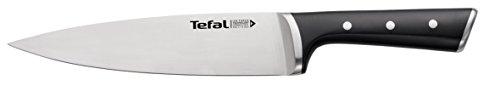 Tefal Ingenio Ice Force K23202 Kochmesser 20 cm, Edelstahl/schwarz