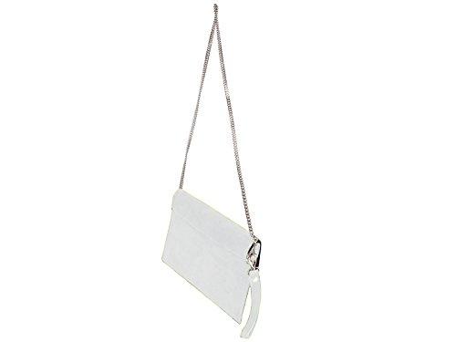 scarlet bijoux, Poschette giorno donna one size Bianco (bianco)