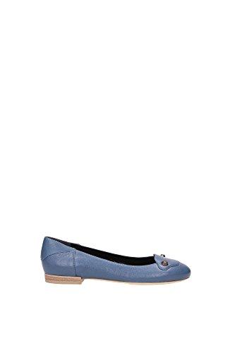 ballet-flats-balenciaga-women-leather-persian-blue-357821wad404230-blue-45uk