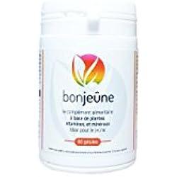 bonjeûne - Complément Alimentaire d'aide au Jeûne - Pilulier de 60 gelules