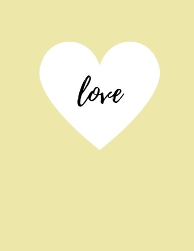 love-100-lined-pages-pale-yellow-journal-notebook-85-x-11-inches
