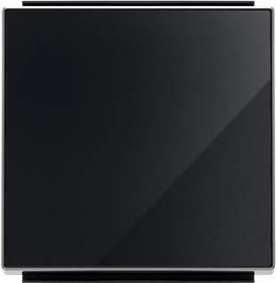 Niessen sky - Tecla interruptor conmutador cristal negro