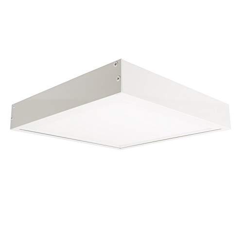 Panel LED Slim 60x60cm 40W 3200lm + Kit Superficie