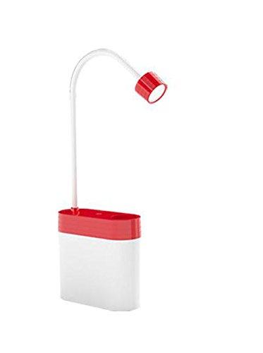 Lampade Ricaricabile A LED Piccolo Tocco Lampada Da Tavolo Dimmer Luci Lucchetto,Red - Medio Dei Dipendenti Regalo