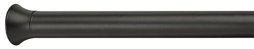 Umbra 244925-038 chroma bastone a pressione per tenda, diametro 2.22 cm, 137.1 x 228.6 cm, nero