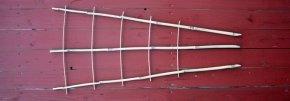 Bambus Rankgitter ca. 110 cm hoch von Gartenbedarf - Du und dein Garten