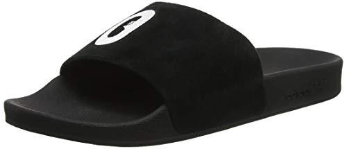 adidas Damen Adilette W Dusch- & Badeschuhe Schwarz (Core Black/FTWR White), 35.5 EU -