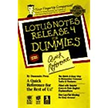 Lotus Notes Release 4 for Dummies Quick Reference