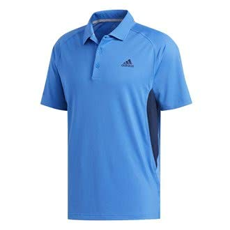 adidas Herren Ultimate 365 Climacool Solid Polo Poloshirt Blau (Azul Dq2386) Large -