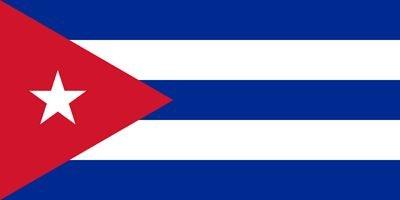 ne Flagge Länder Städte 90 x 150cm Fußball WM Fan Party Farbe Kuba ()