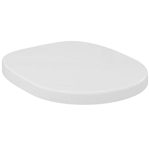 E712801 WC-Sitz Connect mit Deckel Scharniere aus Edelstahl, weiß