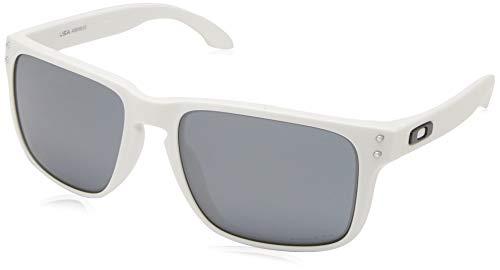 Ray-Ban Herren 0OO9417 Sonnenbrille, Braun (Matte White), 59