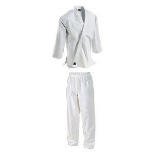 Wettbewerb Schwer Turnier 18oz Judo / Ju Jitsu Ringen Gebleicht Weiß Kostüm - 6/190 (Judo Kostüm)