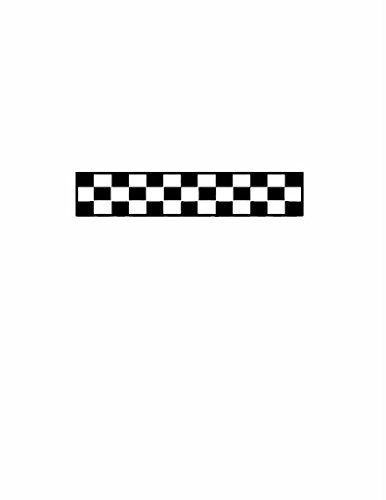 Checkered Flag Stick (Checkered Flag Motor Car Racing Race Track Decal - Color=Black - Size=10X24 - Peel & Stick Sticker - Vinyl Wall Art Design by Design with Vinyl)