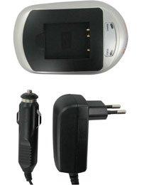Chargeur pour OLYMPUS D-720, 220.0V, 1000mAh