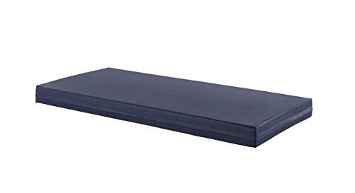 Más Relax Colchón Viscoelástico Antiescaras, Poliuretano, Azul, 190x90x14 cm