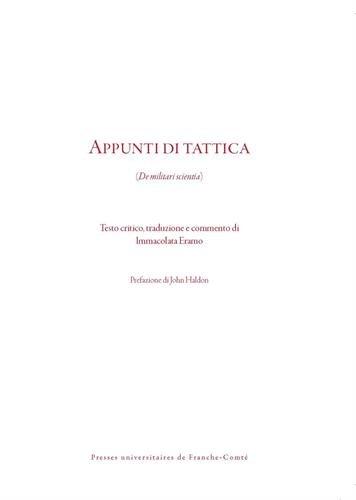 Download books Appunti di tattica : De militari scientia