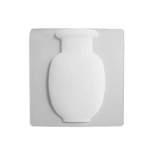 bcb79f8e8a2c Watkings Silicone Floret Bottle Magic Stickers on Glass Wall Punch Free  Flower Pot Silicone Floret Bottle Magic Sticker on Glass