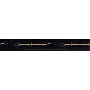 """Preisvergleich Produktbild PINK FLOYD DSOM Beat, Officially Licensed Original Artwork, Premium Quality, 1"""" x 7.5"""" - Sticker Aufkleber DECAL"""