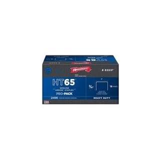Arrow Fastener 65SIP Genuine HT65 3/4-Inch Staples, 2,496-Pack by Arrow Fastener
