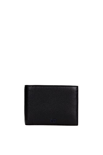 wallets-christian-dior-men-leather-black-and-blue-2cnbh027cnt965u-black-9x11-cm