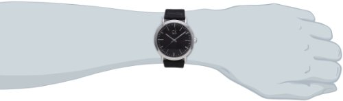 Calvin Klein Herren-Armbanduhr XL ck surround Analog Quarz Leder K3W211C1 - 4