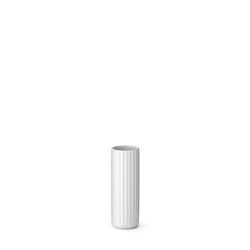 Lyngby Solitaire Vase Weiss, 14cm
