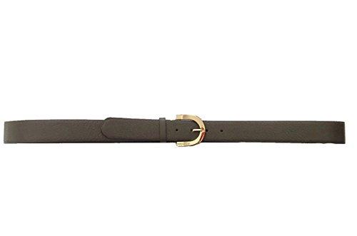 Coccinelle Cintura in pelle 3,5cm taglia XL accorciabile (Fango)