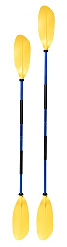 Navyline asymmetrisches Kajak Paddel 2-teilig, Farbe:gelb, Länge:240cm