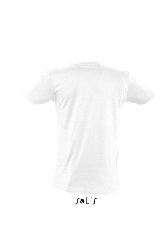 Sols Short Sleeve Tee Shirt Master White