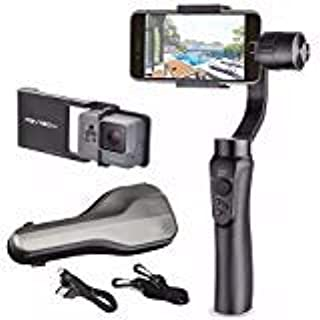 Zhiyun Smooth Q w/ Plate, 3-Axis Handheld Gimbal Stabilizer for Smartphone and Gopro Hero 5 / 4 /3 Wireless Control Vertical Shooting Panorama Mode (Zhiyun Smooth-Q Black) (B06XVCF8BR)   Amazon Products