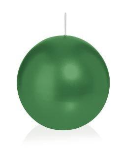 Bougie ronde 6 Ø 100 mm vert foncé, Brûler temps en heures 46, Bougies pour l'événement, partie, occasion, baptême, mariage, Avent, Noël, décoration
