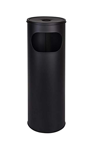 Metlex- Cenicero pie Cigarrillos aire libre Acero