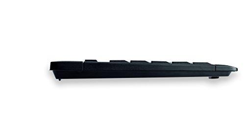 Cherry eVolution STREAM XT Corded MultiMedia Keyboard G85-23100 Tastatur (PS/2, USB, 105 Tasten, ergonomisch,  Qwertz) schwarz - 3