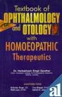 Textbook of Opthalmology and Otology with Homoeopathic Therapeutics