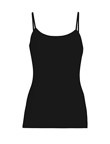 Icebreaker Damen Funktionsshirt Everyday Cami Unterhemd, Black, L -