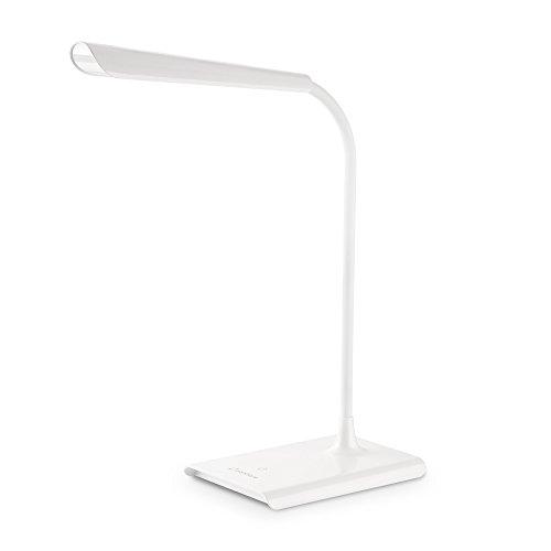 Preisvergleich Produktbild Zanflare verstellbare Schreibtischlampe 0-100% LED mit USB-Ladeanschluss,  8W Dimmbare Augenpflege-Lampe,  keine Reflexionen,  Touch Control,  Memory-Funktion
