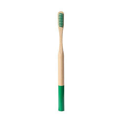 ZHAOHE Mehrfarbige Bürste rund weiche Borsten Bambus Zahnbürste Schutz Zähne Whitening umweltfreundlich Holz Fit für Haushalt oder Hotel für Männer und Kinder