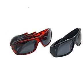 Jiaxingo 2 In 1 Polarisierte Sonnenbrille Wrap Around Solar Reduzieren Sie das Schild für Männer und Frauen