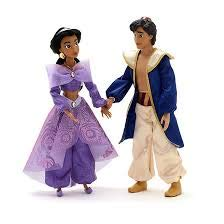 cess Jasmine und Aladdin Singing Doll Set ()