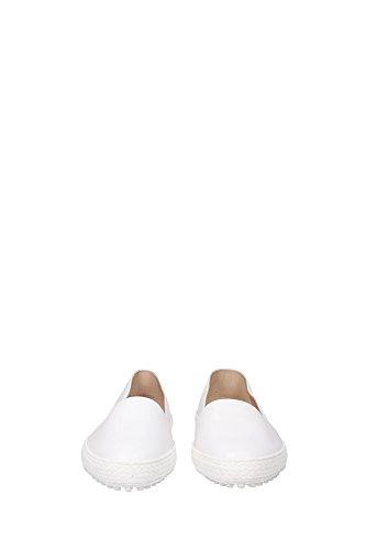 XXW0WL0M57008VB001 Tod's Pantoufle Femme Cuir Blanc Blanc