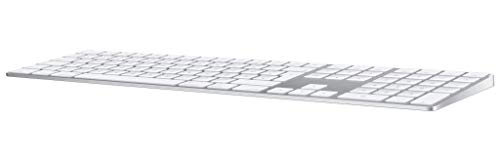 Apple Magic Keyboard mit Ziffernblock (Deutsch) - Silber