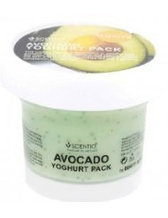 Scentio : Avocado Brightening Yogurt Pack (Facial Mask) 100 ml. Product of Thailand ( by abobon )best sellers by abobon